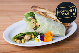 Golden Tickets - Wrap Vegano