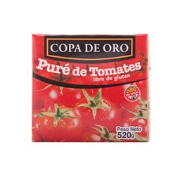 Copa De Oro Puré De Tomate