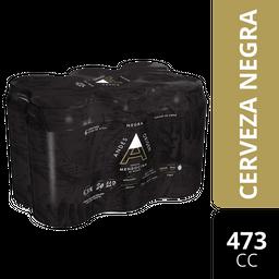 Sixpack Cerveza Negra Andes Origen 473 Ml