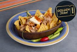 Golden Ticket - Chilaquiles de Pollo