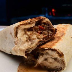 Burrito de Tinga