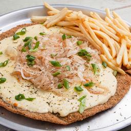 Mila Pizza Fugazzeta para 2 con Papas