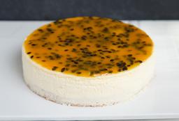 Torta Cheesecake de Maracuyá