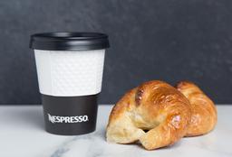 2 Medialunas + 1 Café