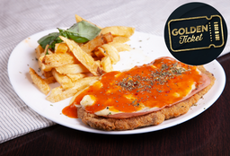 Golden Tickets - Milanesa a la Napolitana