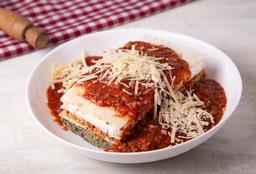 Lasagna de Pollo, Verdura y Jamón