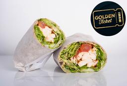 Golden Ticket - Organic Chicken Wrap