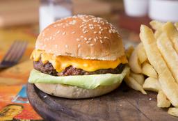 Burger Casera Simple