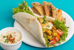 Shawarma de Pollo al Curry