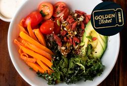 Golden Ticket - Vegan Bowl