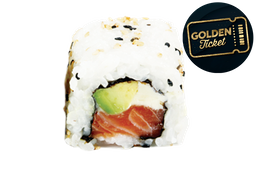 Golden Ticket - Rolls Philadelphia - 8 Unidades