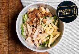 Golden Ticket - Ensalada Caesar con Pollo