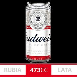 Six Pack Cerveza Budweiser 473Ml