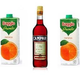 Combo Campari 750ml