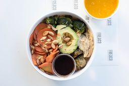 Avo Quinoa Bowl + Sopa