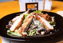 Chicken Caesar Salad + Tater tots