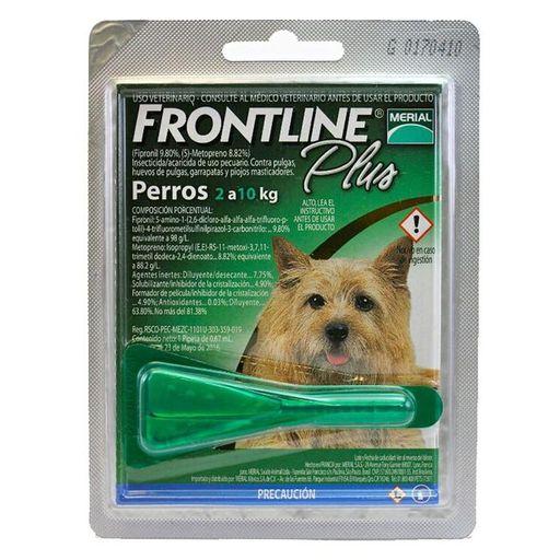 Frontline Plus Verde 2A10Kgx1Pip.