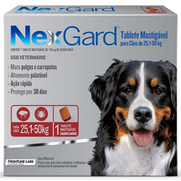 Nexgard 25 A 50