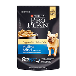 Pro Plan Wet Adulto 7+ Active Mind Chicken X100G