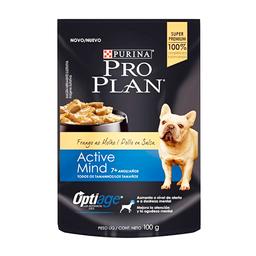 Pro Plan Wet Adulto 7+ Active Mind Chicken X100G
