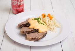 Combo 1 - Platillo + Coca-Cola