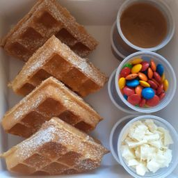 Kit para Crear Waffles Divertido Kids Nutella