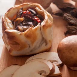 Empanada de Portobellos & Champiñones