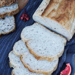 Pan de Molde Blanco Vegano