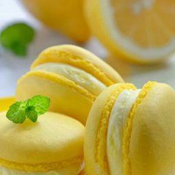 Macaron de Limón