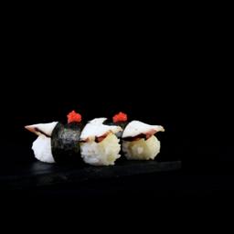 Niguiri de Pulpo y Caviar x 6