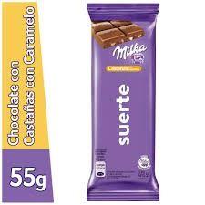 Milka Castañas 55g