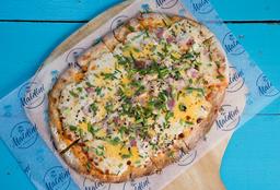 Pizza de Panceta & Cheddar