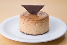 Porción De Cheesecake de Dulce de Leche