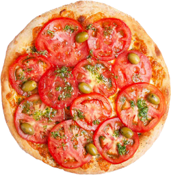 Pizza Napolitana con Ajo