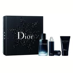 Dior Sauvage Eau Men Edt X100Ml(+Sg75+Deo75)