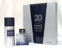 Banderas King Of Seduction Men Edt X100Ml(Deo150)