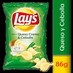 Lay's papas sabor queso crema y cebolla