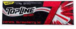 Chicles Topline Seven Strawberry 7 U