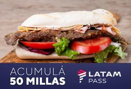 Latam Pass - Sándwich de Milanesa Completo
