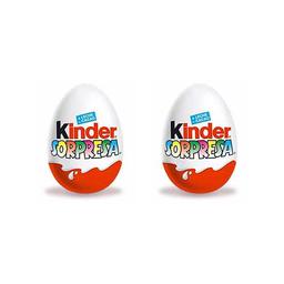 Combo 2U Huevo Kinder Sorp 20 Gr