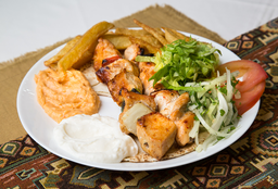 Brochette de Pollo & Shish Tauk