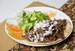 Shawarma al Plato de Carne
