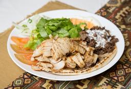 Shawarma al Plato Mixto
