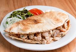 Shawarma al Plato de Pollo