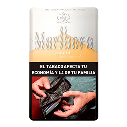 Marlboro Cigarrillos Gold Box 20U