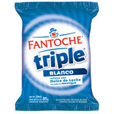 Alfajor Fantoche Triple Blanco 85 g