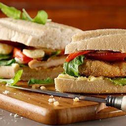 Sandwich de Milanesa de Pollo Completa
