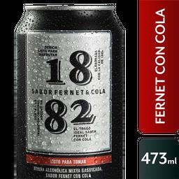 Fernet 1882 Con Cola Lata 473 Ml
