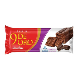 Budin Chocolate 9 De Oro Paq 220 Gr