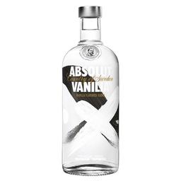 Vodka Absolut Vanilia Suecia 750Ml